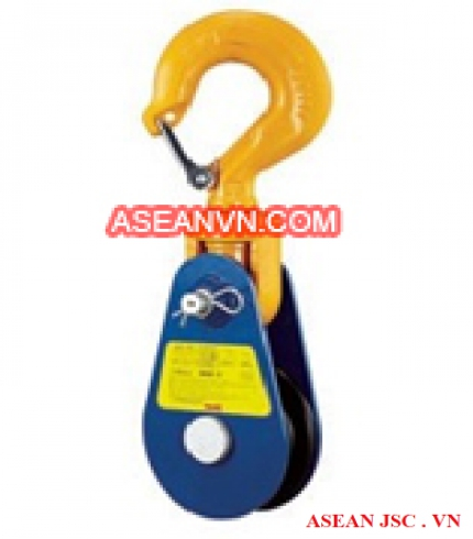 Ròng rọc Light Snatch Block with Hook