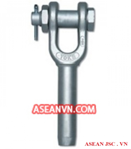 Forged Open Swage Wire Rope Socket with Safety Bolt Pin